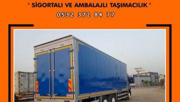 Diyarbakır Bursa Arası Evden Eve Nakliyat