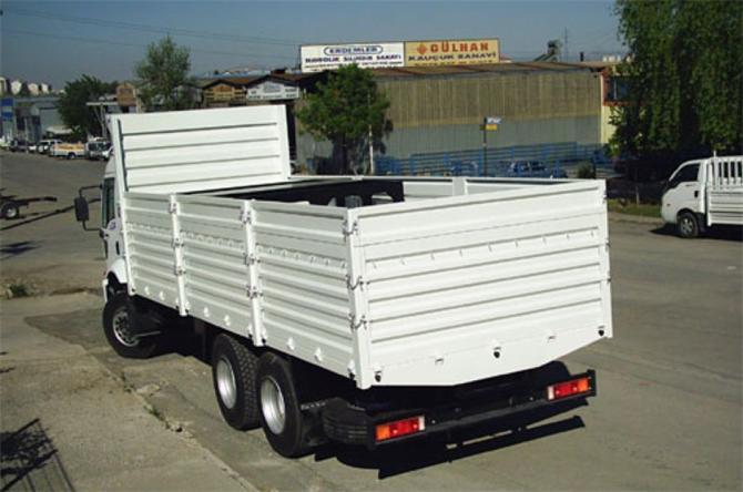 açık kamyon